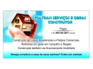 CONSTRUÇÃO DE CASAS E PREDIOS COMERCIAIS