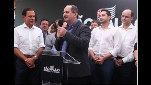 Prefeito Aldo inaugura Creche Escola