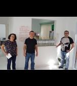 Saúde recebe material de higienização de empresa
