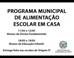 Prefeitura inicia distribuição de Kits de Merenda Escolar