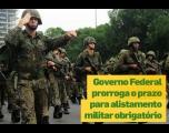 Governo do Brasil prorroga prazo do alistamento obrigatório