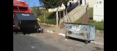 Prefeitura faz manutenção e troca de contêineres metálicos