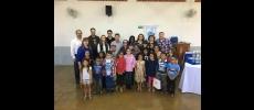 Entrega de óculos no Rotary Club