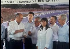 Governador se compromete com os vereadores em Tietê