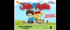 Teatro Municipal recebe espetáculo João e Maria