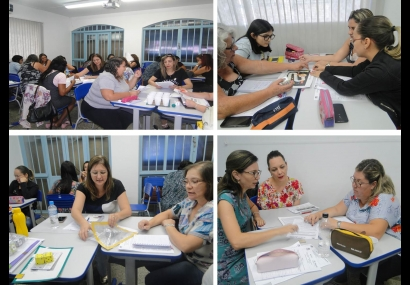 Professores participam de palestras